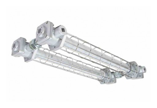 Larson Electronics Releases 208W Explosion-Proof, Low-Profile LED Fixture, 27,040 Lumens, CID1 & 2