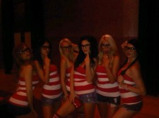 BudTrader Babes Dressed as Where's Waldo