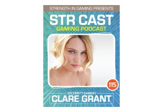 Clare Grant Celebrity Gamer Poster