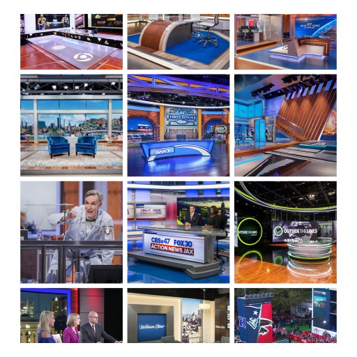NewscastStudio Announces Winners in 2017 Set of the Year Contest, Honoring the Best in Scenic Design for Television