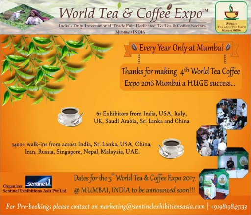 4th World Tea Coffee Expo Mumbai Concludes Successfully; Attracts 3400+ Business Visitors From India & Abroad
