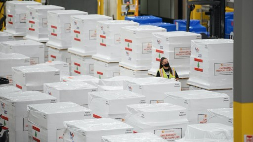 ATFL Coordinates $13 Million in Medical Supplies to Lebanon, Arrived Today