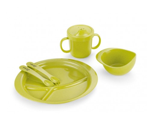 Ozeri Announces Earth Dish Set for Kids, 100% Made From Natural Plant Material