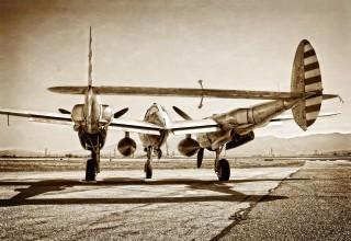 Yanks Air Museum's Lockheed P-38 Lightning