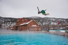 Winter fun at Glenwood Hot Springs