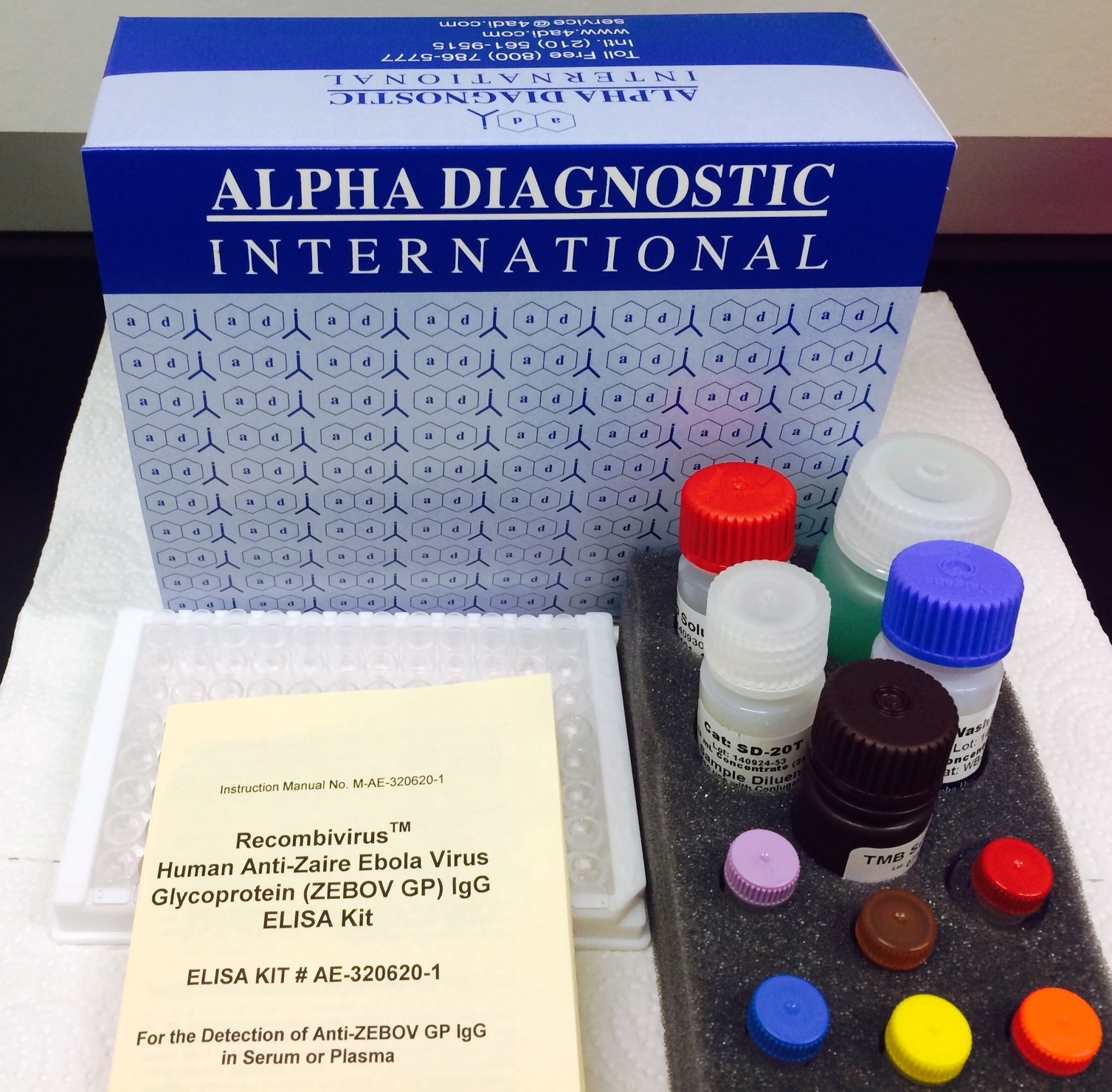 Ebola Detection Using Rapid Tests and ELISA Kits for Humans and