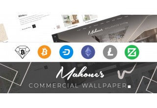 Mahone's Commercial Wallpaper Crypto Checkout