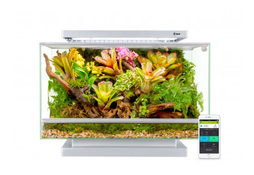Smart Microhabitat Makes It Simple to Care for Pets and Plants