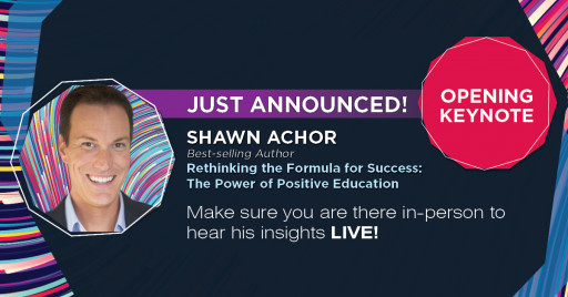 Future of Education Technology Conference Announces Best-Selling Author Shawn Achor as 2022 Opening Keynote