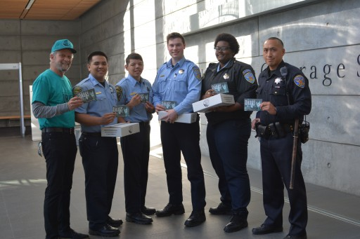 Scientology Volunteers Provide Drug Education Resources to San Francisco Police