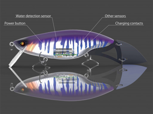 Intelligent Lure 'smartLure Model Zero' Unlocks Secrets of Fishing by Processing Big Data of Lure Actions and Environmental Factors