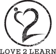 Love 2 Learn Logo