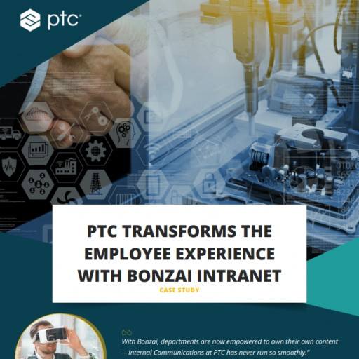 Bonzai Transforms the Employee Intranet Experience at PTC