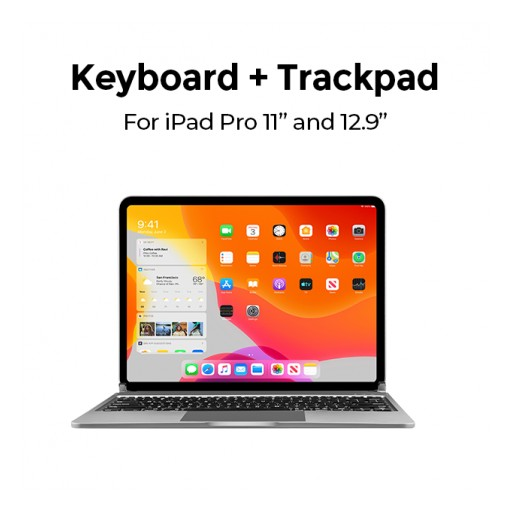 Libra - a Specially Designed Keyboard That Gives iPad Pro Users a MacBook Like Experience