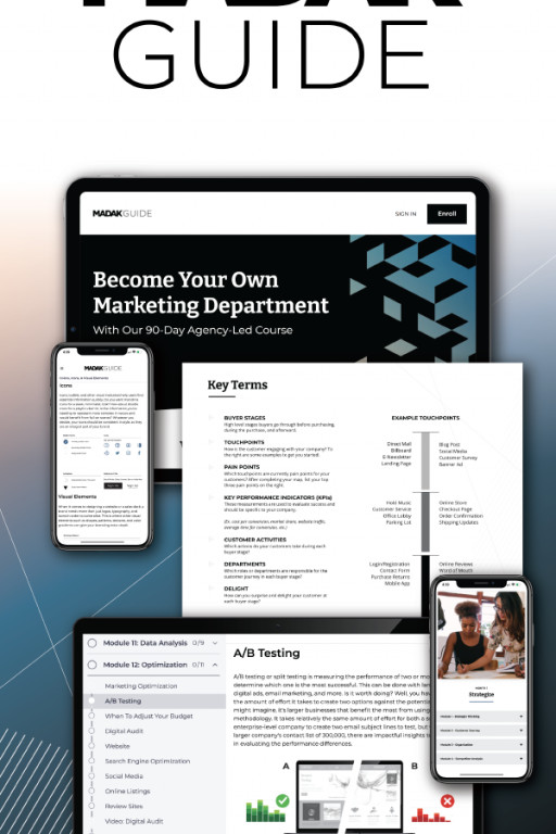 Madak® Launches New Innovative Marketing Guide to Help Empower People to Create Better Marketing