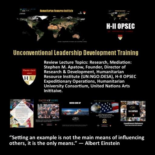 Unconventional Leadership Development Training Conferences