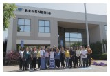 The Regenesis team with Sullivan Solar Power celebrating the recent installation