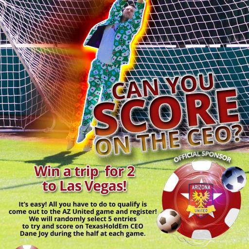 Arizona United Soccer Club Partners With TexasHoldEm.com