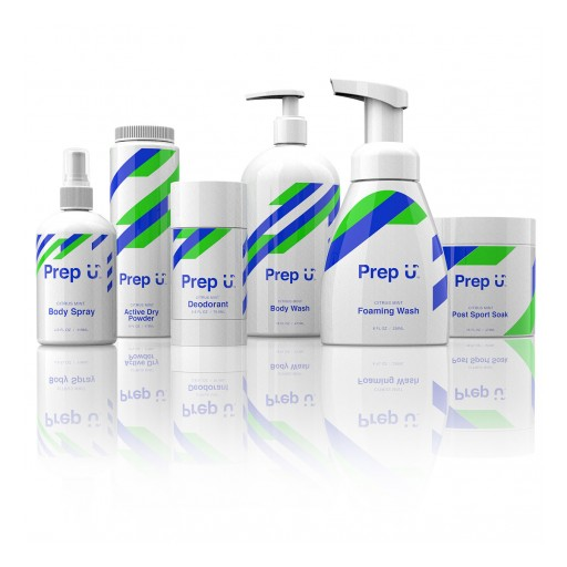 Cleaning Up the Locker Room - Prep U™ Launches Personal Care Products Designed for Active Boys