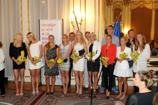 """2016 US Open Goes Polish """"Party at the NET"""""""