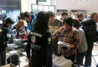Many attending the exhibit wanted to share the information with their friends and families.