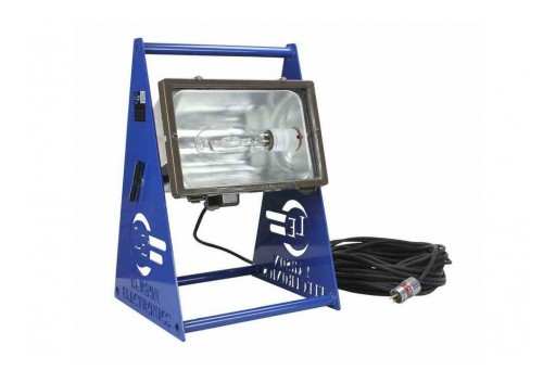 Larson Electronics Releases 400W Hazardous Location Light, 200' Cord, Portable, 25,000SqFt Coverage