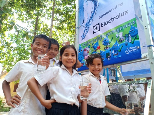 Planet Water Foundation and Electrolux Launch Partnership to Provide Access to Safe Drinking Water, Hand Wash Facilities, and Hygiene Education in the Philippines and Indonesia