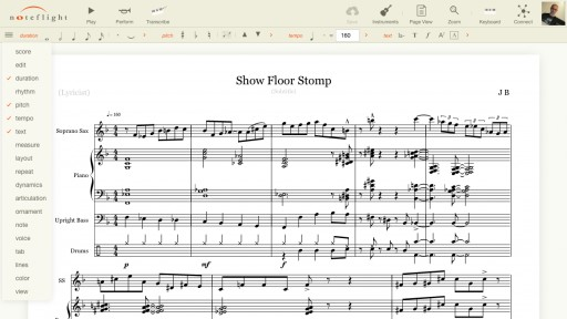 World's First and Best Online Music Notation Software, Noteflight, Launches New Interface for Over Two Million Users