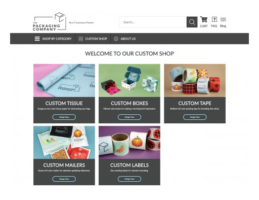 The Packaging Company Develops Forward-Thinking Suite of Online Custom Packaging Design Tools