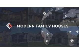 Modern Family Houses Logo