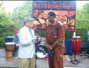 Memphis Congressman Steve Cohen at the Home of Anthony Elmore