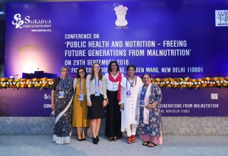 The Conference was in collaboration with the Maternal & Child Health Program of the Milken Institute School of Public Health at the George Washington University in Washington D.C.
