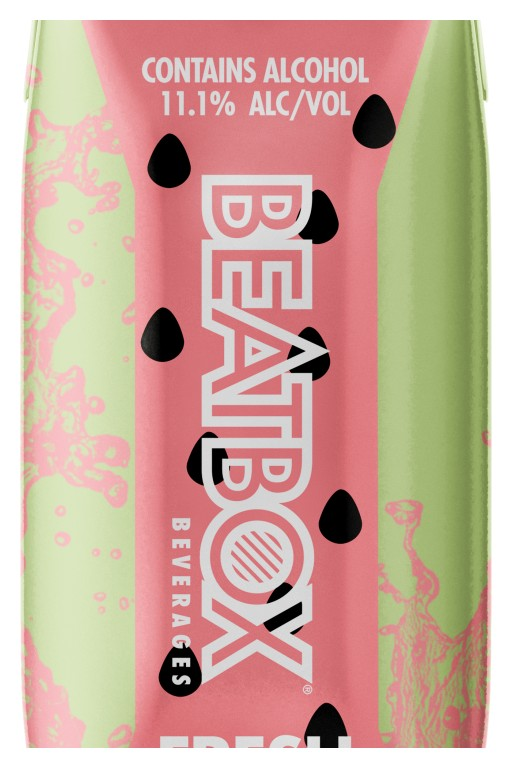 BeatBox Beverages Adds Fresh Watermelon to Its Party Punch Range