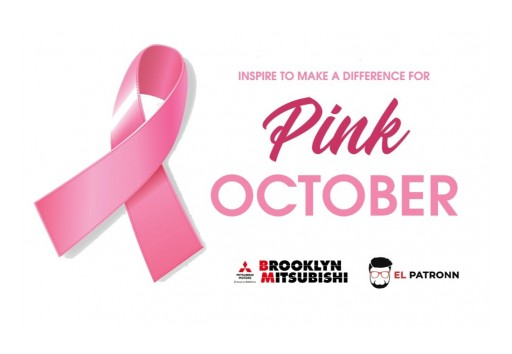 It's Pink October for Mitsubishi Dealership in Brooklyn, New York