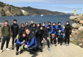 Campbell Hall Marine Science Students