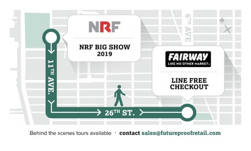 FutureProof Retail Offers NYC Store Tours to Showcase Innovative Mobile Self-Scanning Checkout Solution in Iconic New York Grocery Chain