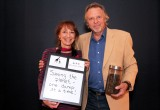 "ZooShare Investors Denice Wilkins and John Wilson at ZooShare's ""Thanks a Million"" Party in October 2014"