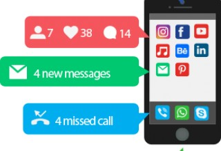 Besides tracking employees, use a SMS notifications system to keep in contact with employees.