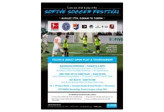 Sofive Soccer Festival Flyer