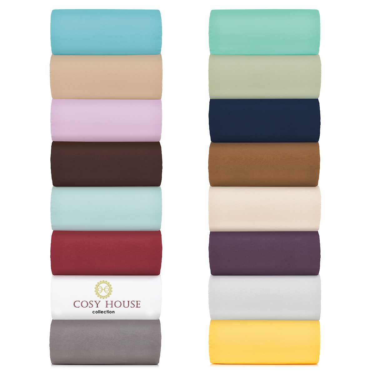 Cosy House Microfiber Bed Sheets 1500 Series
