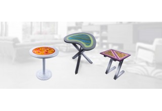 BB Giordano Functional Art Tables