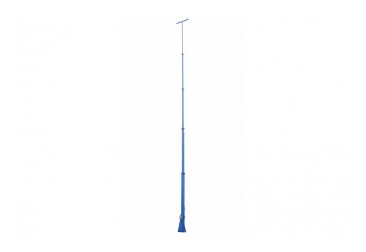 Larson Electronics Releases 50' 6-Stage Fold-Over Telescoping Light Mast, 360˚ Rotating Boom