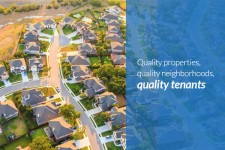Quality Homes, Quality Neighborhoods, Quality Tenants