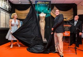 "Marilyn Monroe ""Happy Birthday, Mr. President"" Dress Unveiling."