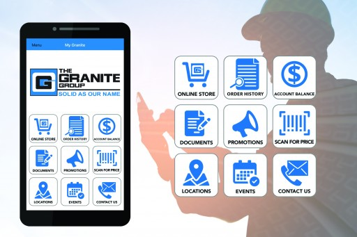 The Granite Group Wholesalers Launches New Mobile App