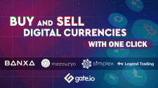 Buy & Sell Cryptocurrencies with one click