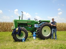 Matthew Machicek, Crowned National Champion in 2019 Delo Tractor Restoration Competition