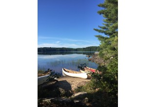 Canoeing at Agonquin Park