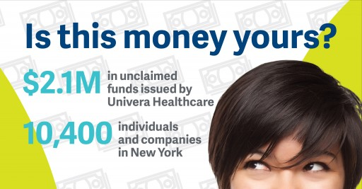 """Univera Healthcare Looking for Owners of """"Unclaimed Funds'"""