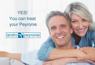 Andropeyronie can be treated easily